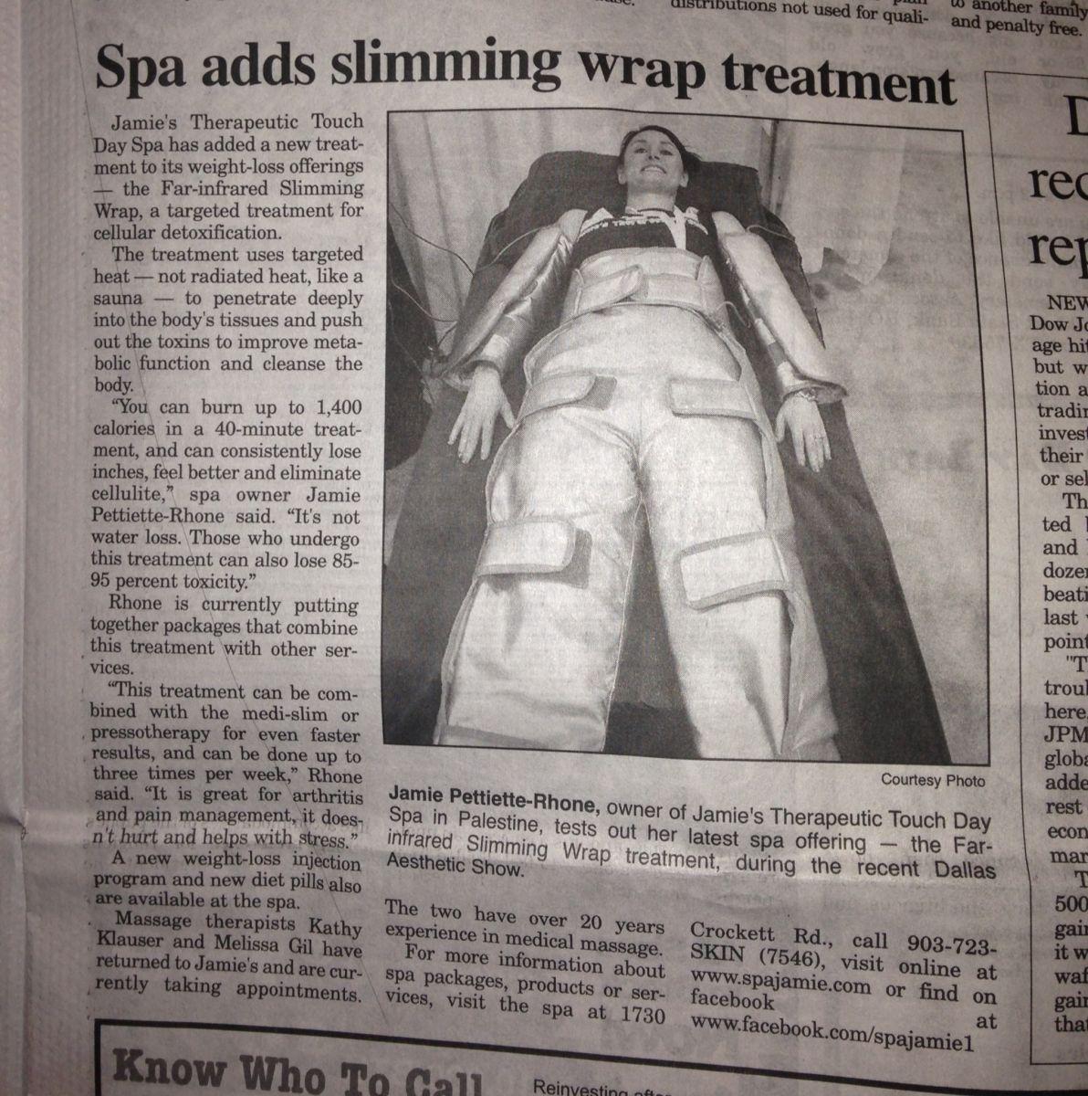 Jamies Therapeutic Touch Body Wrap